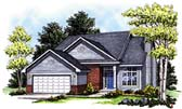 Plan Number 99187 - 1683 Square Feet