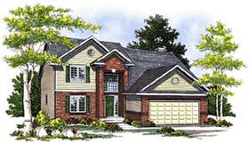 Bungalow House Plan 99190 Elevation