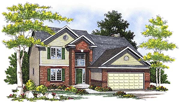 Bungalow House Plan 99190 Elevation