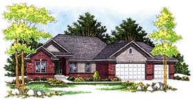Plan Number 99191 - 1676 Square Feet