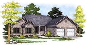 House Plan 99198 Elevation