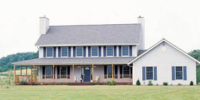 Country House Plan 99205 Elevation