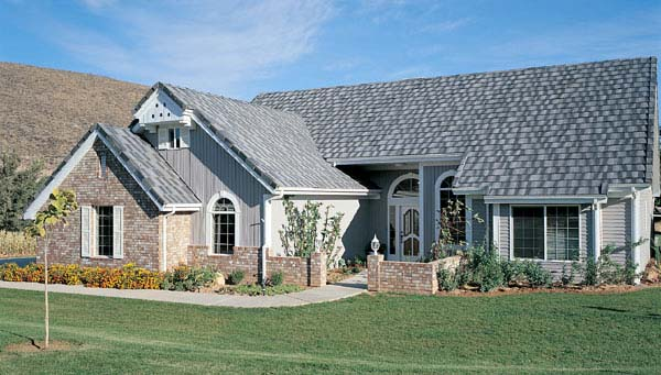 Bungalow European House Plan 99217 Elevation