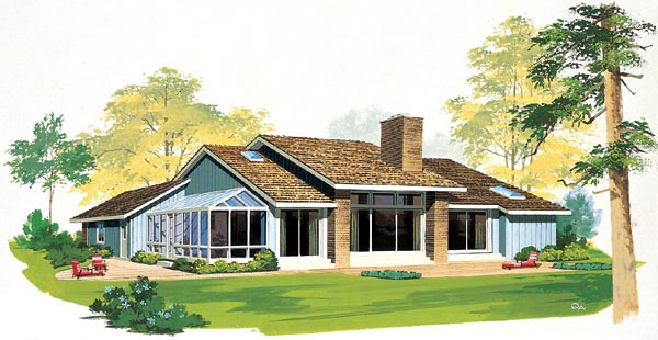 Contemporary retro house plans house design plans for Retro modern house plans
