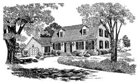 Country House Plan 99224 Elevation