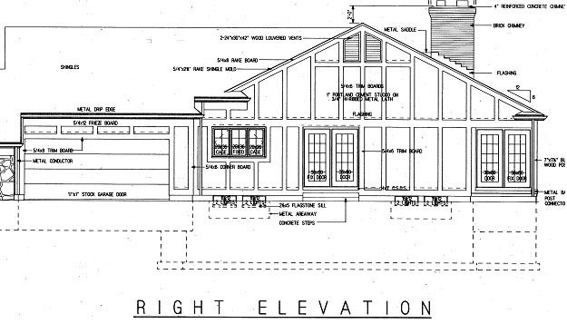 Tudor House Plan 99247 with 3 Beds, 3 Baths, 2 Car Garage Picture 2
