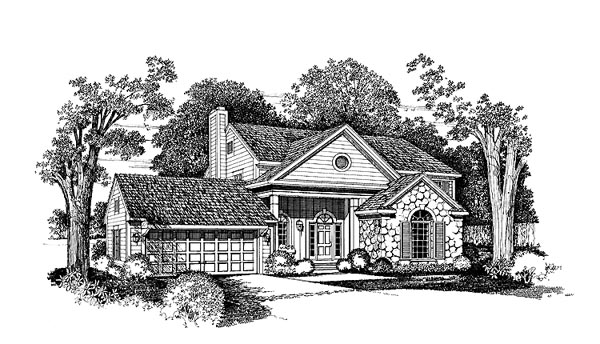 Bungalow House Plan 99251 Elevation