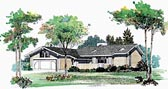Plan Number 99256 - 1387 Square Feet