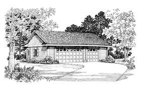 Garage Plan 99292