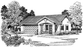 Garage Plan 99293 Elevation