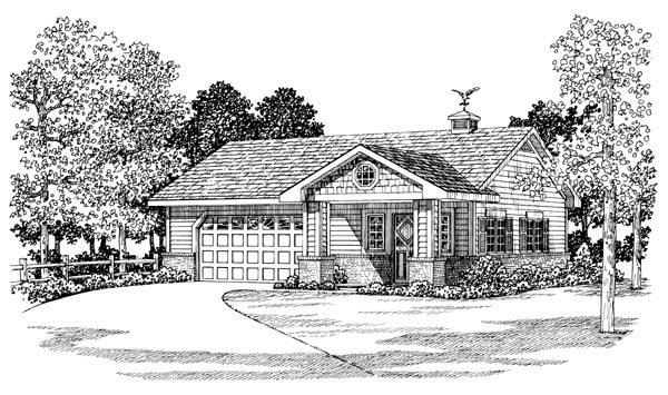 Garage Plan 99294 Elevation