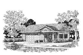 Garage Plan 99296 Elevation
