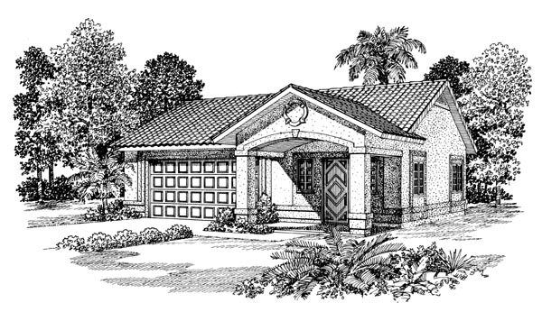 Garage Plan 99297 Elevation