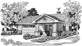 Garage Plan 99298 Elevation