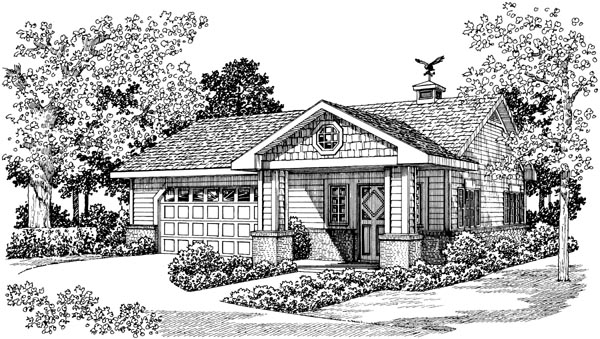 Garage Plan 99298 Elevation