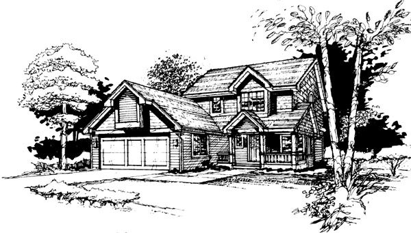 Country House Plan 99307 Elevation