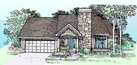 Bungalow Craftsman House Plan 99317 Elevation