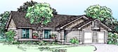 Plan Number 99318 - 1159 Square Feet
