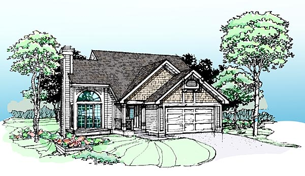 Bungalow House Plan 99327 Elevation
