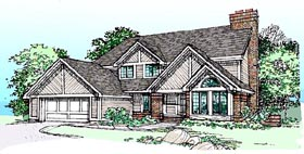 Traditional House Plan 99332 Elevation
