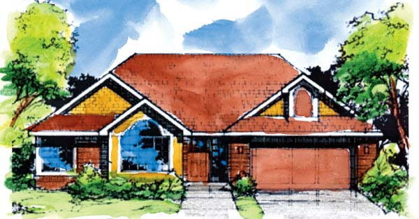 Bungalow House Plan 99338 Elevation