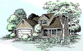 House Plan 99342 | Country Style Plan with 2257 Sq Ft, 2 Bedrooms, 3 Bathrooms, 2 Car Garage Elevation