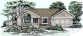 Bungalow House Plan 99345 Elevation