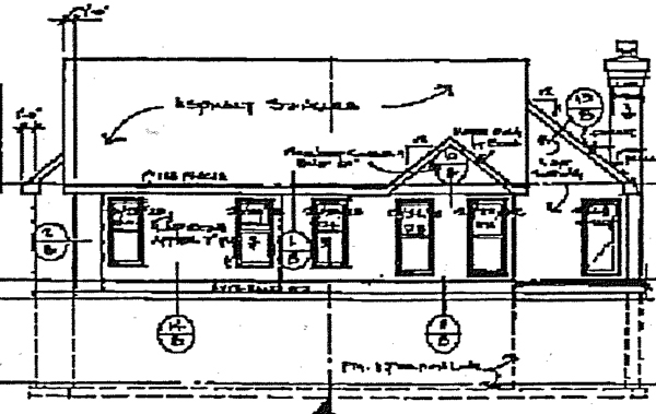 Bungalow House Plan 99345 Rear Elevation