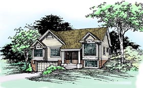 Country House Plan 99349 Elevation