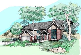 Traditional House Plan 99356 Elevation