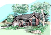 Plan Number 99356 - 2459 Square Feet