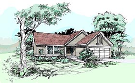 Plan Number 99361 - 1146 Square Feet
