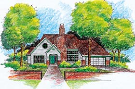 Traditional House Plan 99363 Elevation