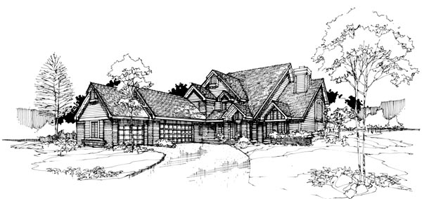 Traditional House Plan 99367 Elevation