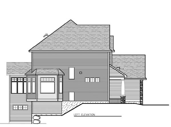 Cottage, Craftsman, Traditional House Plan 99376 with 4 Beds, 3 Baths, 3 Car Garage Picture 1