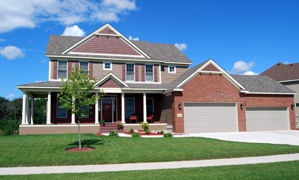 Cottage Craftsman Traditional House Plan 99381 Elevation