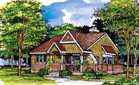 Cottage Tudor House Plan 99394 Elevation