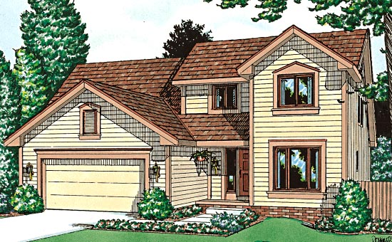 Country Farmhouse House Plan 99403 Elevation