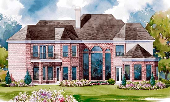 Victorian House Plan 99410 Rear Elevation