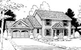 Plan Number 99413 - 2482 Square Feet