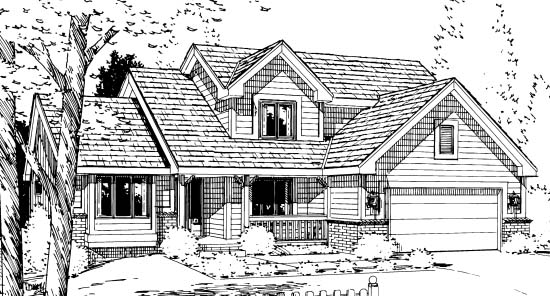 Country House Plan 99420 with 3 Beds, 3 Baths, 2 Car Garage Picture 1