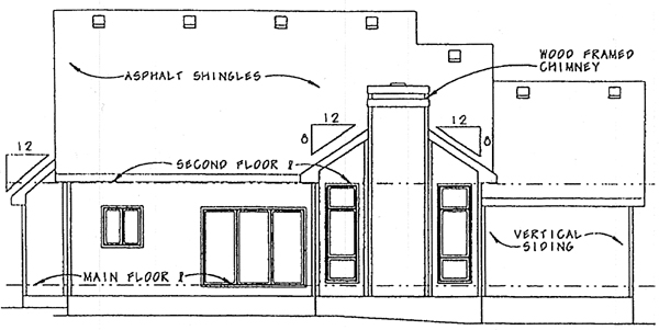 Country House Plan 99420 Rear Elevation