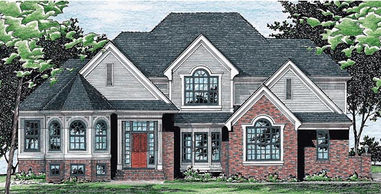 Victorian House Plan 99430 Elevation
