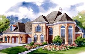 European Victorian House Plan 99441 Elevation