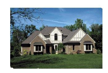 European, Tudor House Plan 99445 with 4 Beds, 4 Baths, 3 Car Garage Elevation