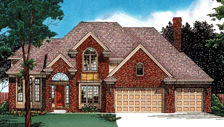 Farmhouse House Plan 99446 Elevation