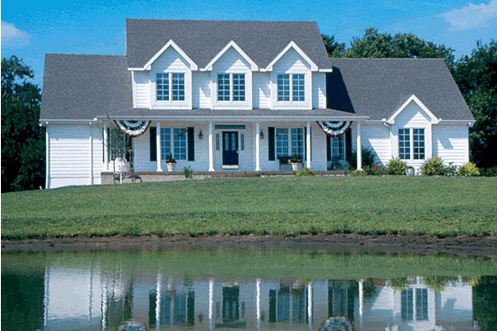 Country House Plan 99450 Elevation