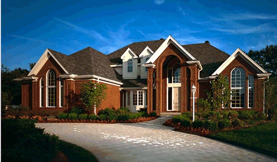European, Victorian House Plan 99464 with 4 Beds, 5 Baths, 4 Car Garage Picture 1