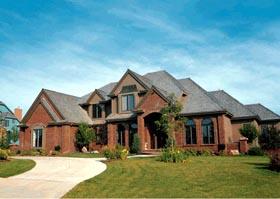 Tudor House Plan 99467 Elevation