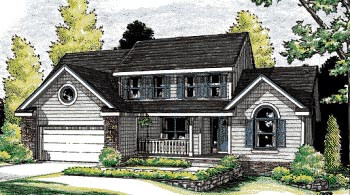 Country House Plan 99476 Elevation